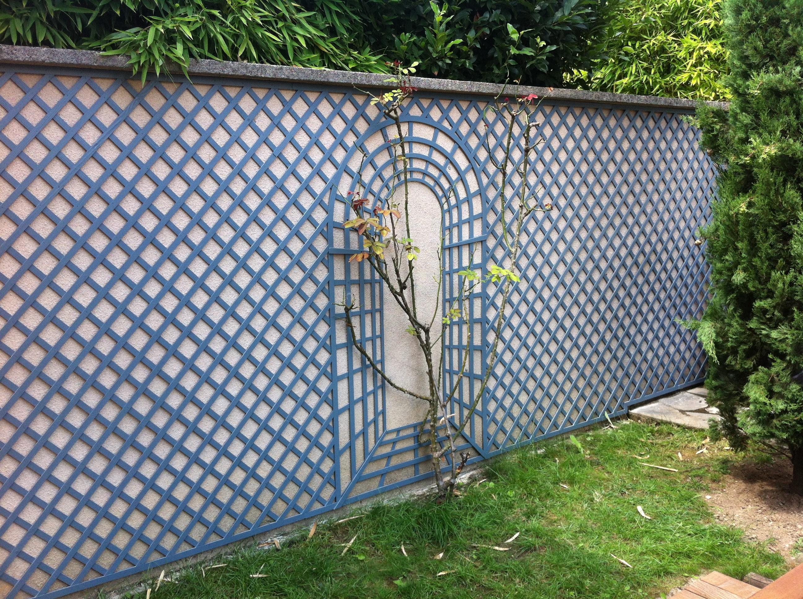 Treillis bois treillis de jardin achat vente de panneaux en bois - Mur separateur decoratif ...
