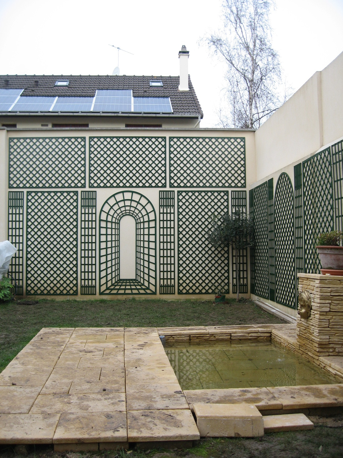 treillage jardin. Black Bedroom Furniture Sets. Home Design Ideas
